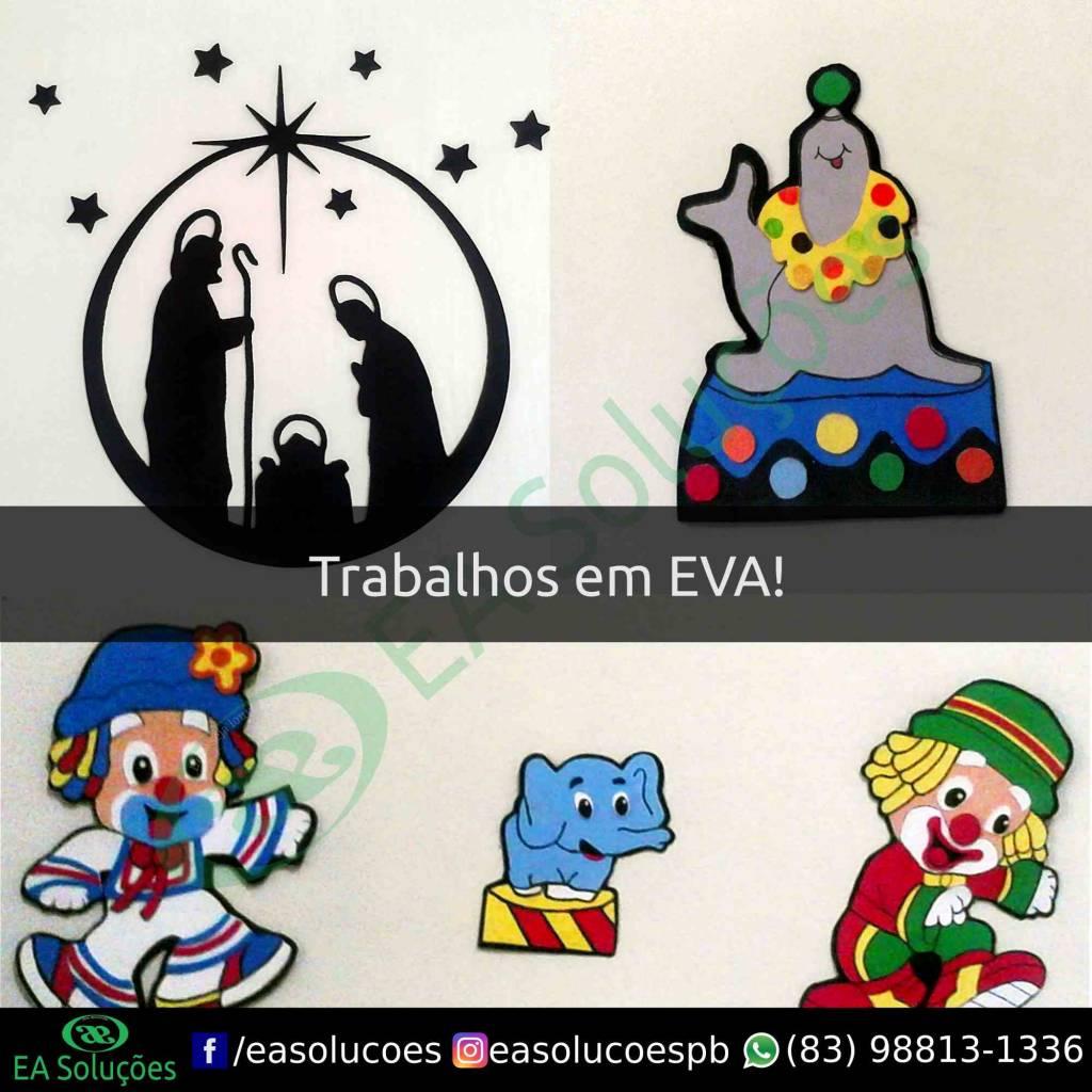 Personagens em EVA